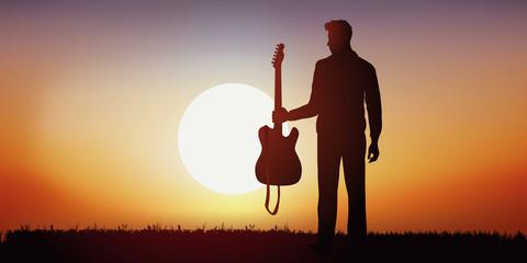musicien - musique - guitare - guitariste - guitare électrique