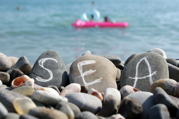 written on the stones of the sea