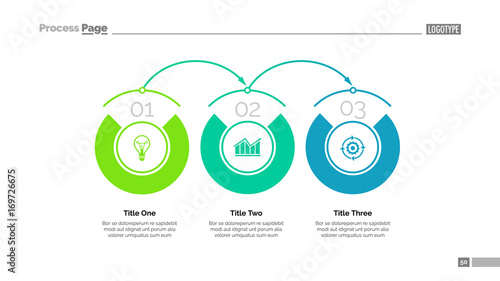 business timeline slide template fotolia com の ストック画像と