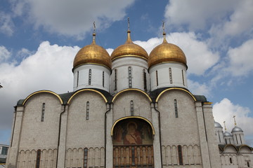 Dormition Cathedral, Kremlin, Moscow