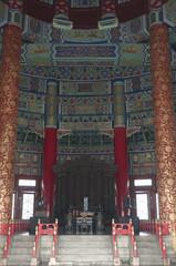 Inside the Temple of Heaven in Beijing