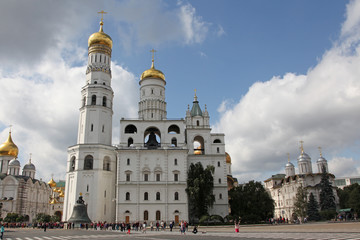 Ivan the Great Bell Tower in Moscow Kremlin