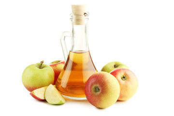 Apple Cider Vinegar White Background photos, royalty-free images ...