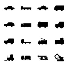 Truck special auto icons