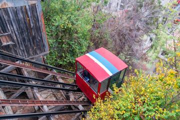Fototapete - Funicular Railway View