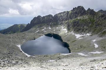 Furkot valley hiking trail in High Tatras, Soliasko, Slovakia, summer touristic season, wild nature, touristic trail,