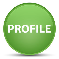 Profile special soft green round button