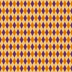 アーガイルチェック柄のシームレスパターン背景素材