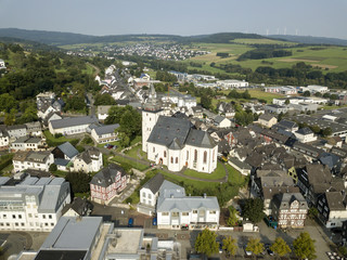 Town Haiger, Hesse, Germany