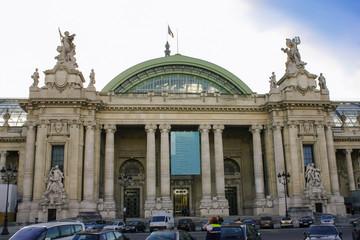 Grand building in Paris Fototapete