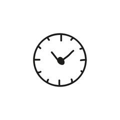 doodle clock icon design