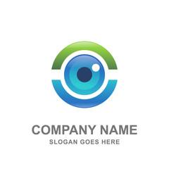 Medical Eye Care Logo Icon