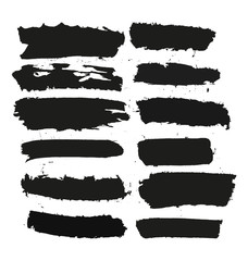 black brushstroke set3