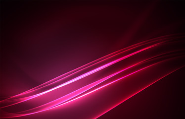 Vector polar lights concept background