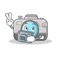 Photography photo camera character cartoon