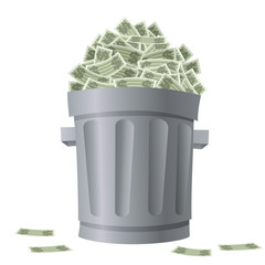Trash Bin Money
