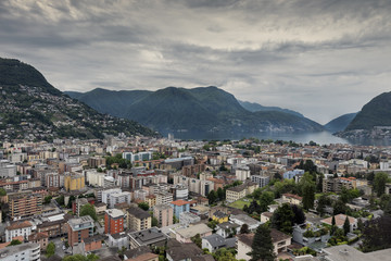 Lugano city - Switzerland
