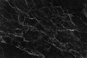 Black marble natural pattern for background, abstract natural marble black and white,marble black stone