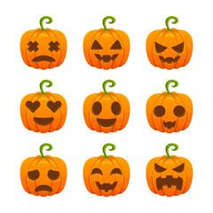 Pumpkin Character Collection Set