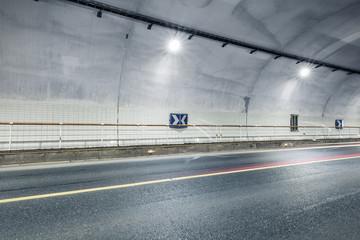 tunnel interior scene