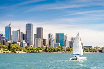 Sydney city skyscrapers