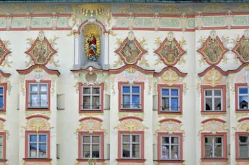 Fassade des Kernhaus in Wasserburg am Inn