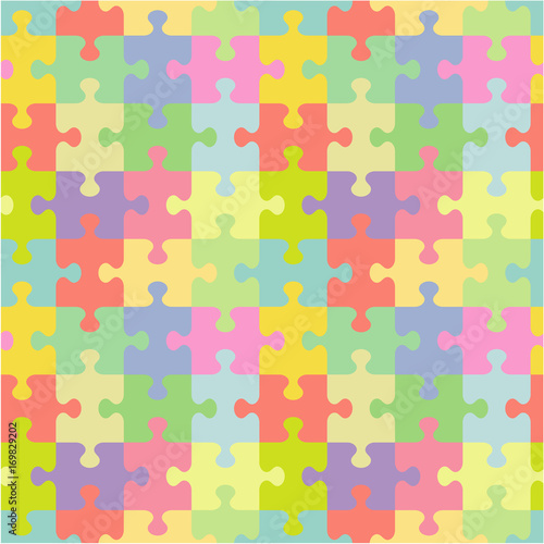 Seamless You See 4 Tiles Jigsaw Puzzle Pattern Print Background Wallpaper