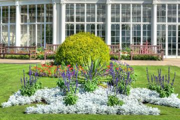 Camellia House, Wollaton Park, Nottingham, UK..