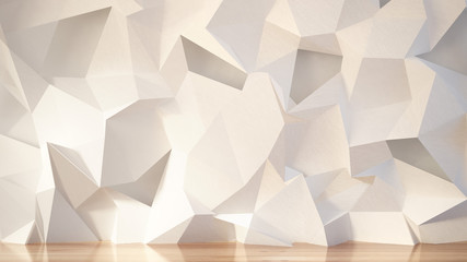Obraz White interior background. 3d illustration, 3d rendering. - fototapety do salonu