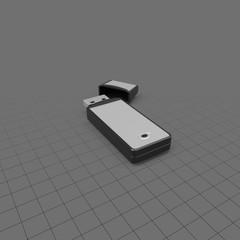 A Thumb Drive And Lid050