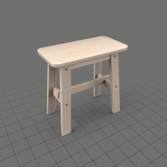 C Small Rectangle Stool151