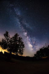 the glory of the Milky way
