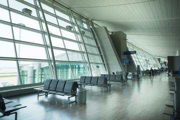 International Airport interior.