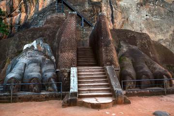 Sigiriya also know as lion rock