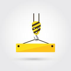 crane hook icon