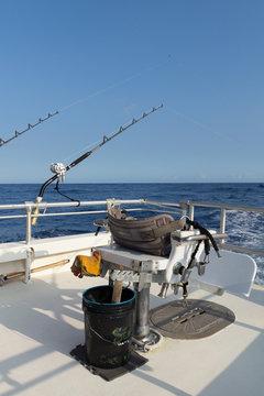Deep sea fishing set up