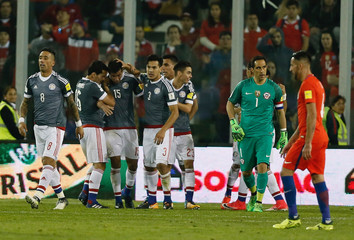 Football Soccer - Chile v Paraguay - 2018 World Cup Qualifiers