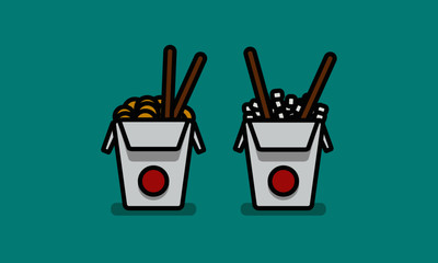 Chinese Takeout Icon
