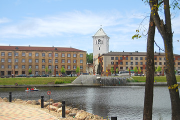 Jelgava, Latvia - Jāņa Čakstes Boulevard was completely rebuilt with a two-level promenade for leisurely walks and bicycle riding.