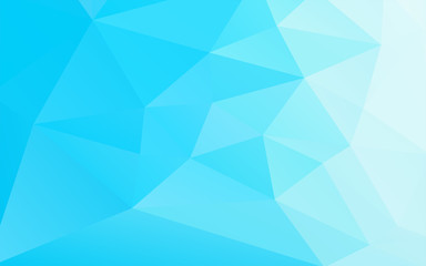 abstract geometric business blue background