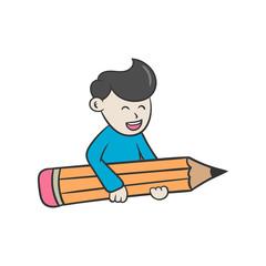 creative people bring pencil
