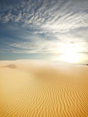Photo sur Toile Desert de sable sand desert landscape