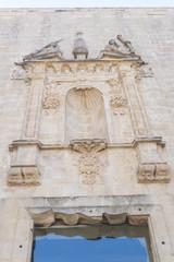 Santa Maria church ruins details, Cazorla, Jaen, Spain