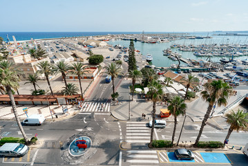 Port of Torrevieja, Costa Blanca. Spain