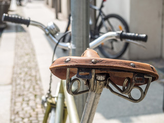 Retro Fahrradsattel