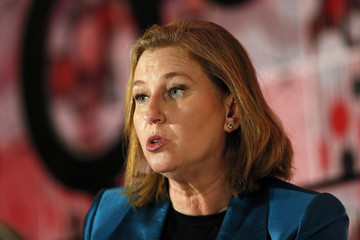 Livni, co-leader of Zionist Union attends the Most Powerful Women summit in London