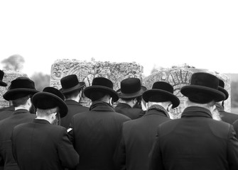jews, jewish, judaism, hasidim,prayer, back, behind