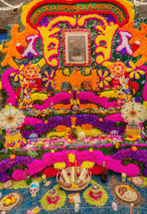 Day of the Dead Offering Altar, Home of Frida Kahlo in Mexico