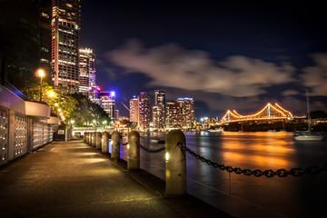 Brisbane River at Night