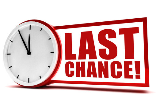 Last Chance! Button, Icon